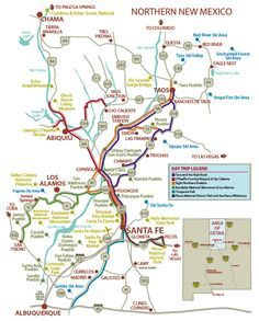 Maps Of Northern New Mexico : northern, mexico, NORTHERN, Northern, Mexico, Travel, Mexico,, Trip,