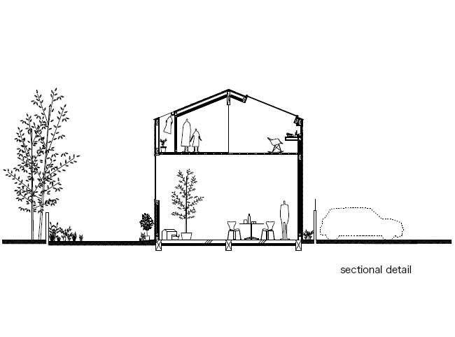 House in Komazawa, Japan: Go Hasegawa & Associates