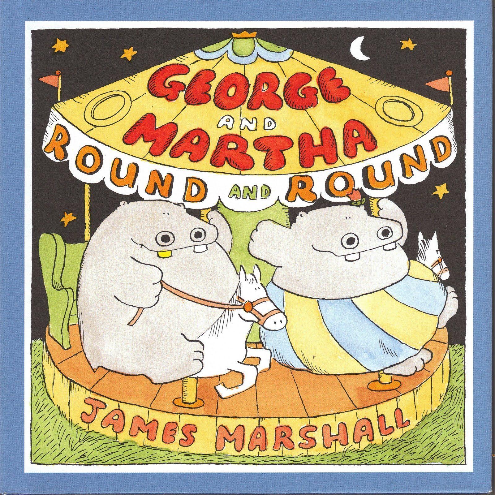 Brickbat Books: FEATURED: James Marshall's George and Martha, etc.
