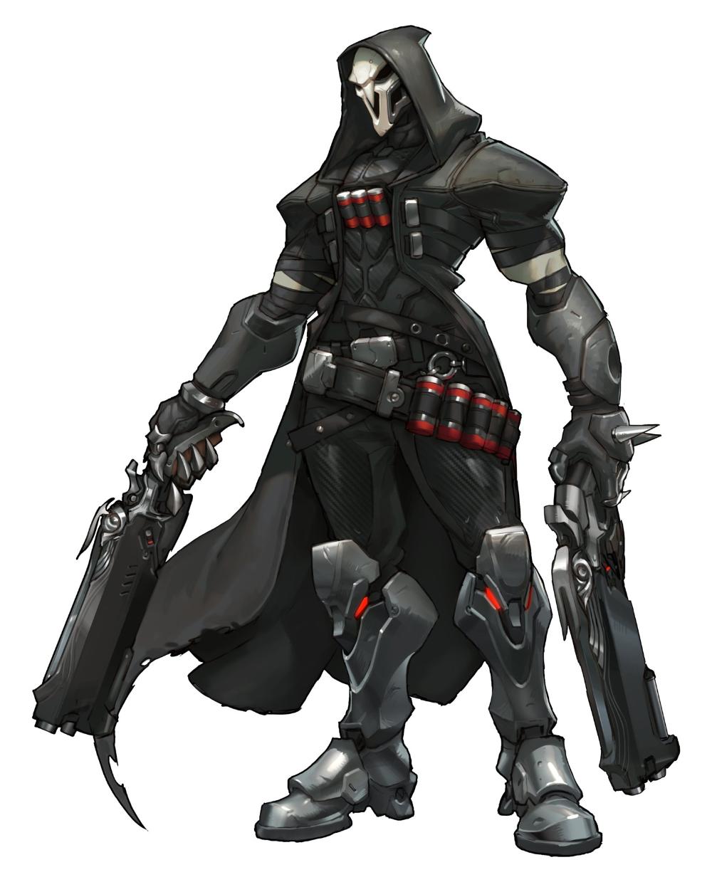 Artstation Overwatch Reaper Concept Arnold Tsang Overwatch Reaper Concept Art Characters Overwatch