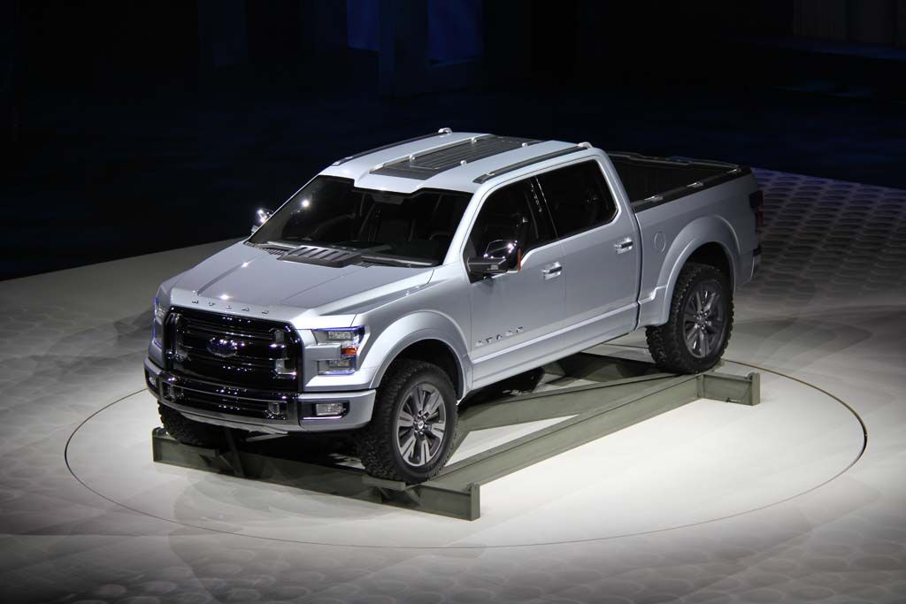 Ford S Atlas Concept Signals Plan For Next Gen F 150 Shown At