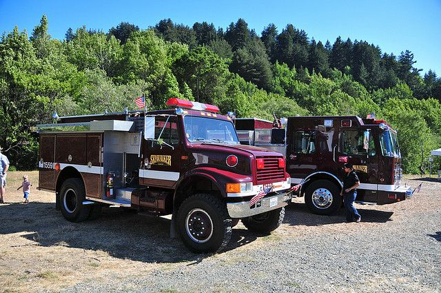 Fire Trucks, Skywalker Ranch Fire Dept.