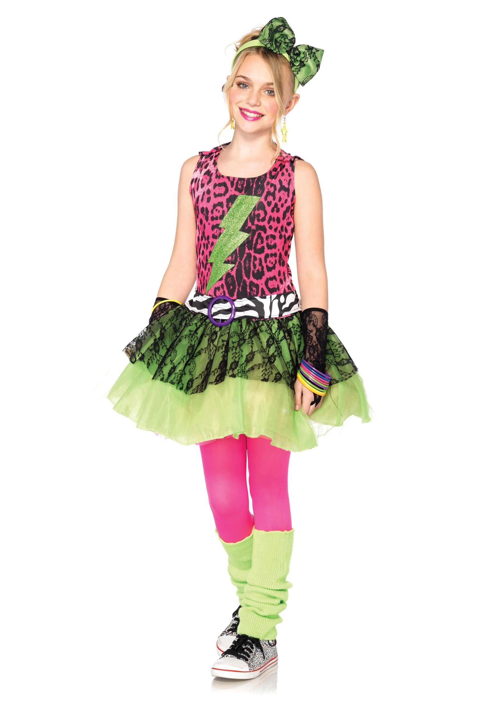 ideas for a 1980's halloween costume for girl Google
