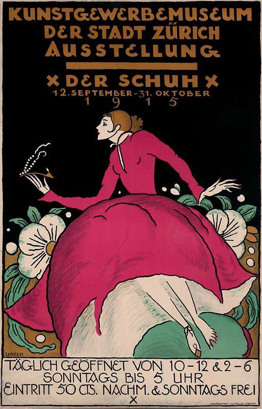 Rudolf Urech, Der Schuh Ausstellung, 1915