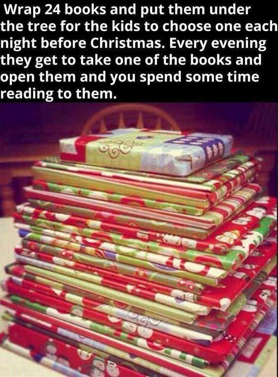 14 Innovative Ways To Gift Wrap Books Christmas Traditions Kids Christmas Christmas Crafts