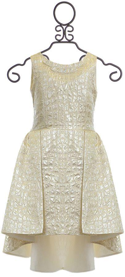Zoe LTD Beautiful Tween Dress Gold Hi Lo (7 & 10) | Kid\'s Clothing ...