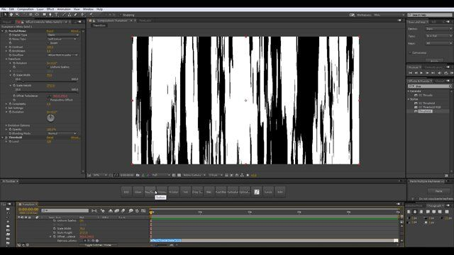 """Daniel Brodesky walks through how to use the After Effects """"Optic Compensation"""" effect to create a transition effect. Typically the Optics Compensation effect in Ae, is meant for correcting and modifying camera lens, adding or removing distortion. More can be found here: http://lesterbanks.com/2015/05/creating-a-ray-transition-effect-using-aes-optics-compensation/ Here, Daniel uses it to add a unique distorted look to some other effects in Ae, offering an interesting way to create…"""