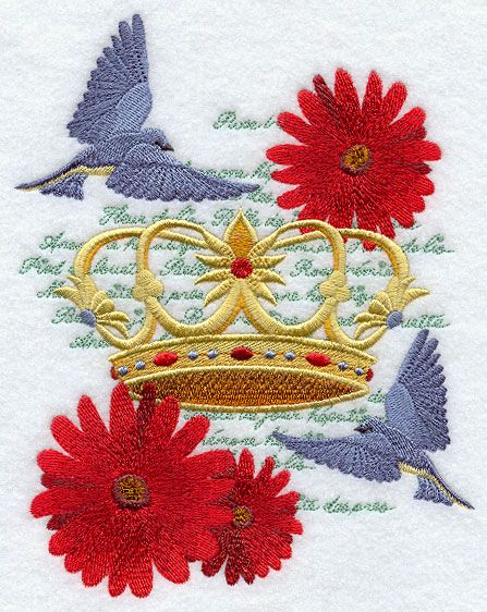 Shabby Chic Machine Embroidery Designs Machine Embroidery Designs