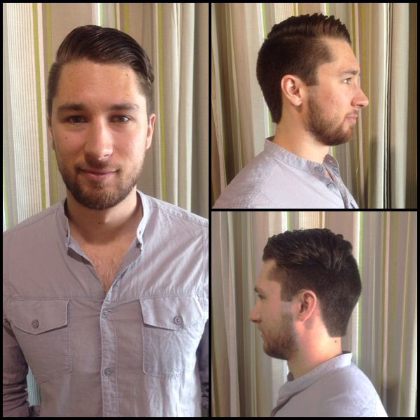 Men's cut - Styled with Hardwired by Paul Mitchell