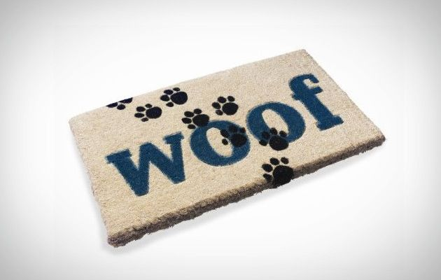 Planet Dog Woof Doormat   Remember To Wipe Your Feet Or Paws At The Door