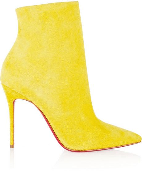 5f102ff08a9 Christian Louboutin So Kate 100 suede ankle boots on shopstyle.com ...