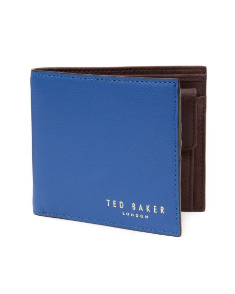 b2f491262c29 Bright bifold wallet - Blue