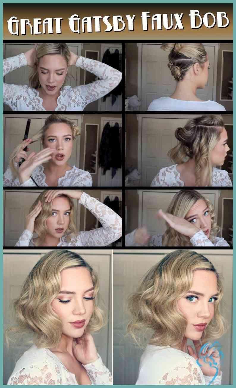 20er Jahre Frisuren Selbst Gemacht Damen Frisuren 20er Damen Frisuren Gemacht Jahre Selbst In 2020 Gatsby Hair Flapper Hair Hair Styles