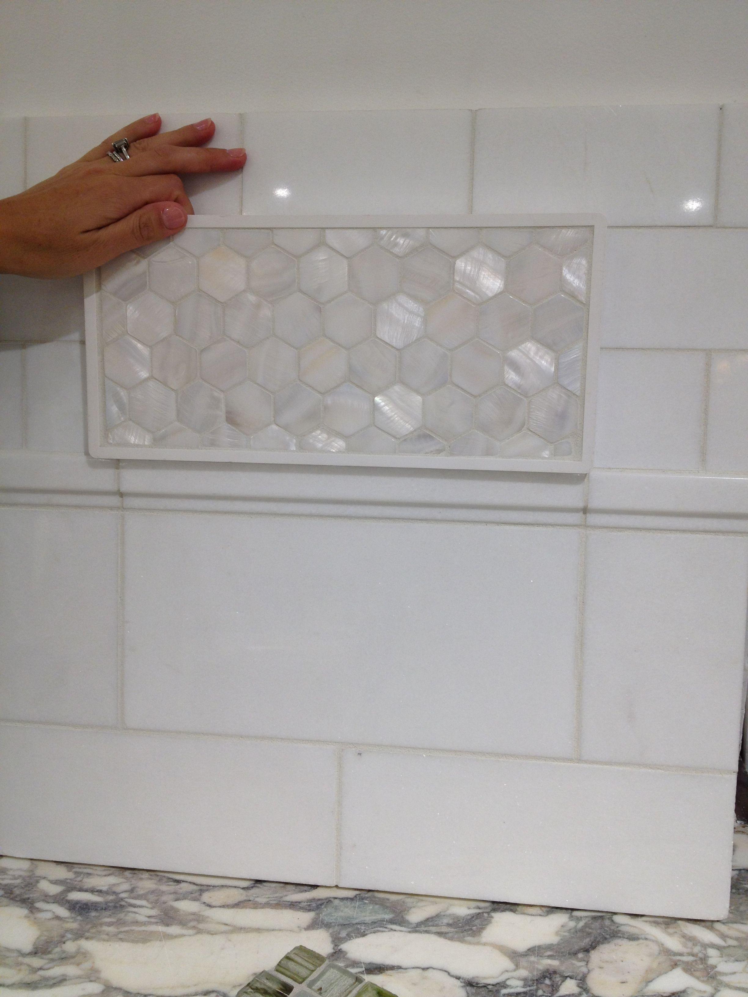 Walker zanger opalescent honeycomb tile bathrooms pinterest walker zanger opalescent honeycomb tile doublecrazyfo Image collections