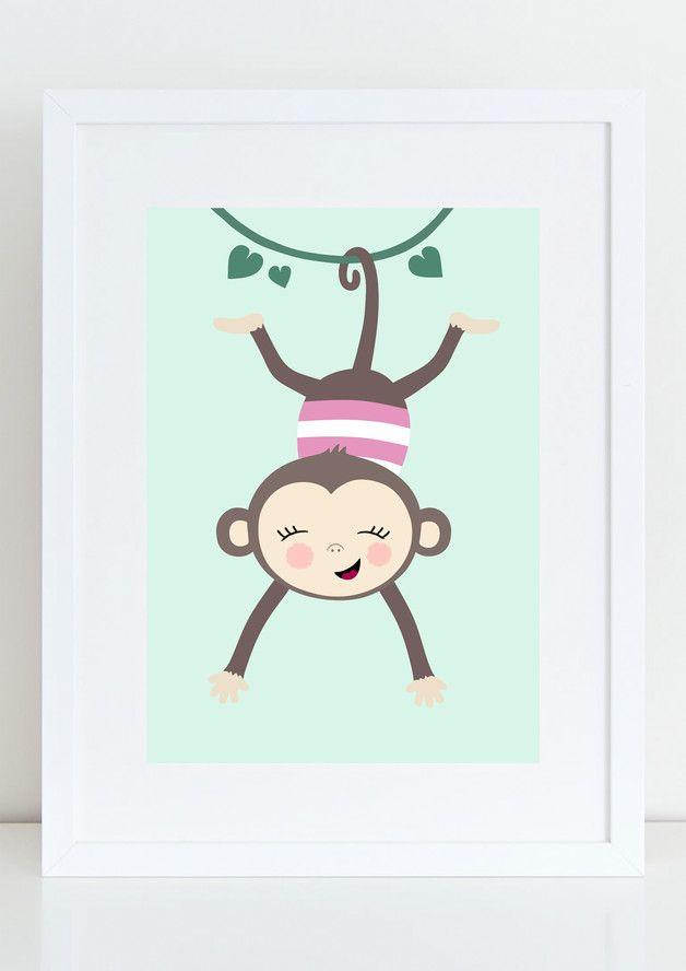 Marvelous Du suchst noch sch ne Wandbilder f r Dein Babyzimmer oder Kinderzimmer Dann ist dieses liebevoll gestaltete