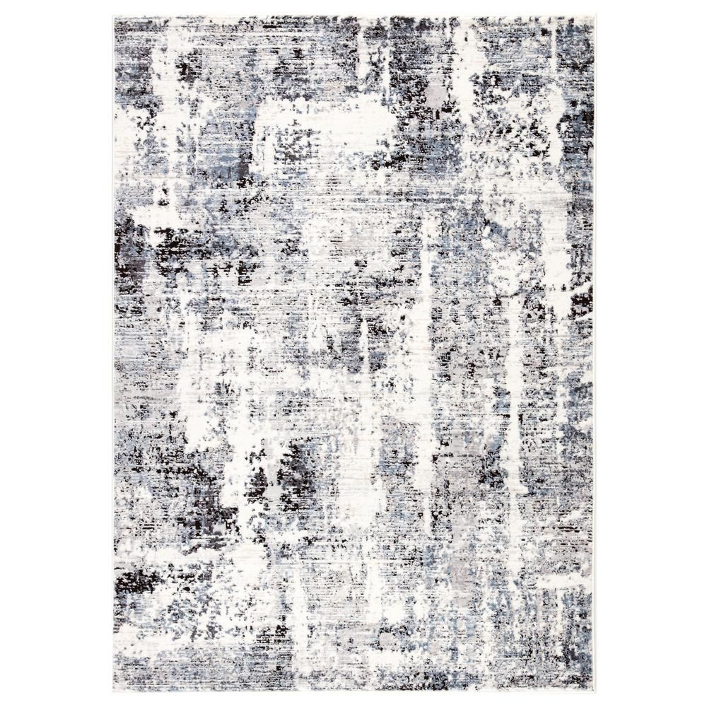 Jaipur Living Quilo Gray 7 Ft 10 In X 10 Ft 10 In Modern Area