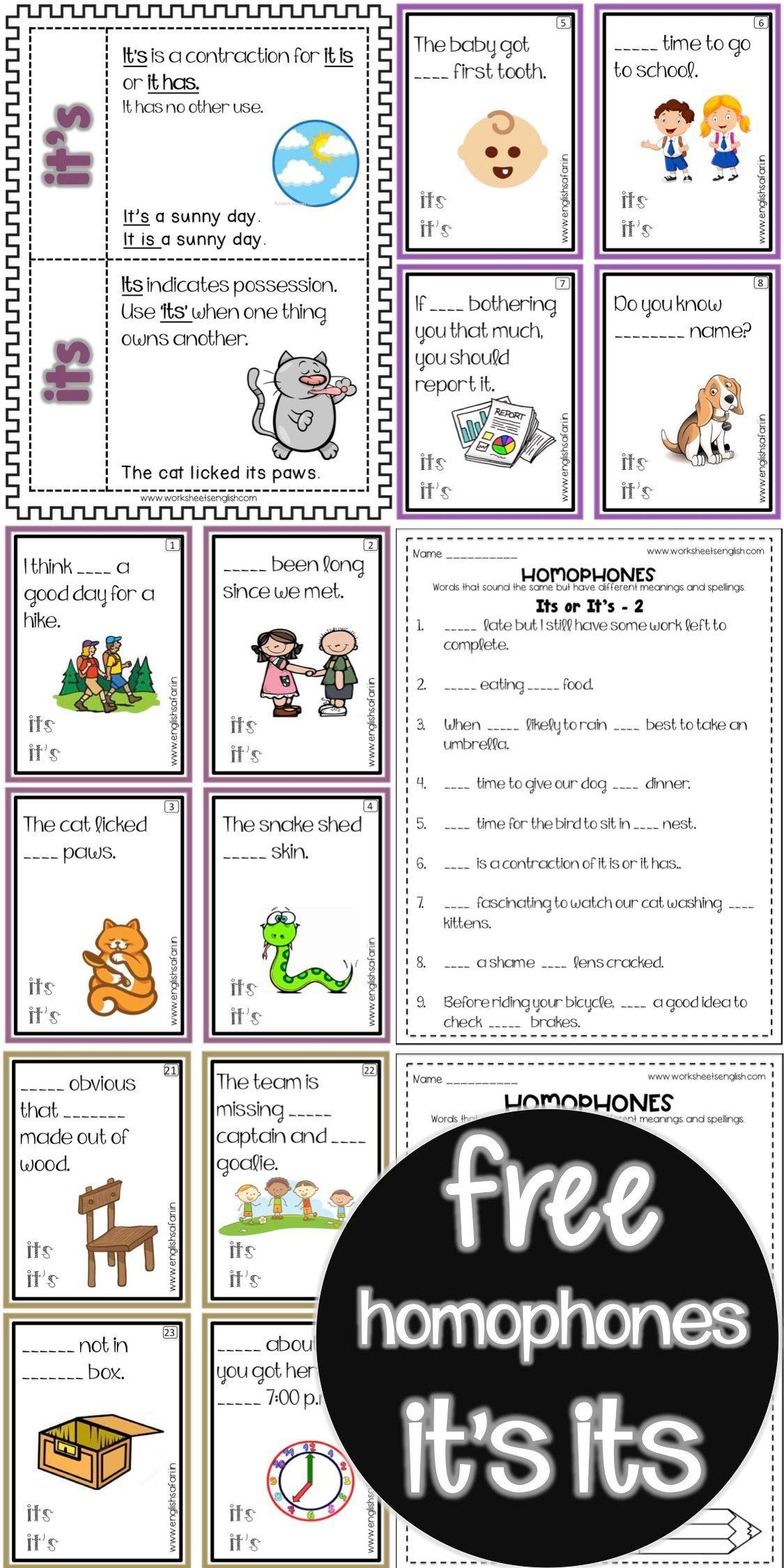 Homophone Worksheets Free Word Work Homophones Worksheets Homophones Grammar Skills [ 1104 x 736 Pixel ]