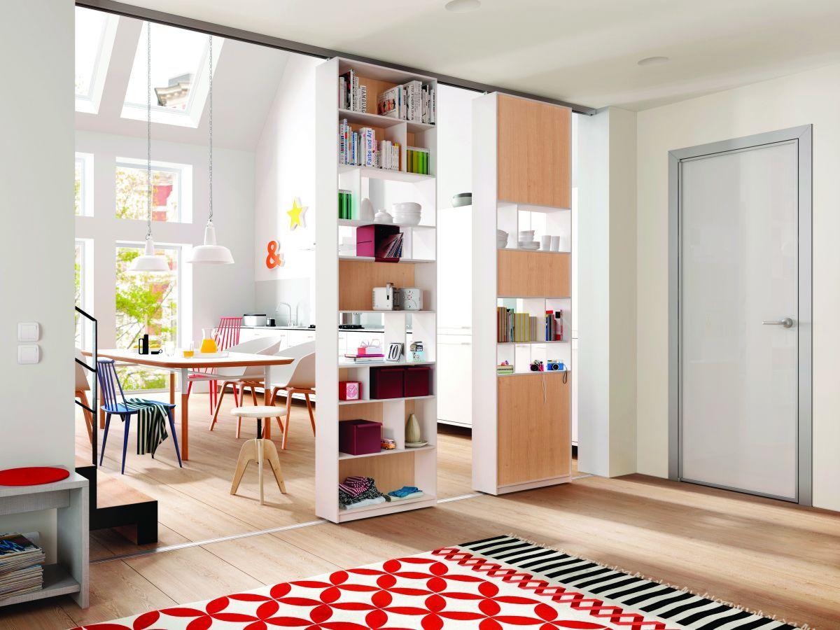 Wnetrza Kuchnia Lazienka Aranzacje Wnetrz Salon Room Divider Interior Sliding Shelves