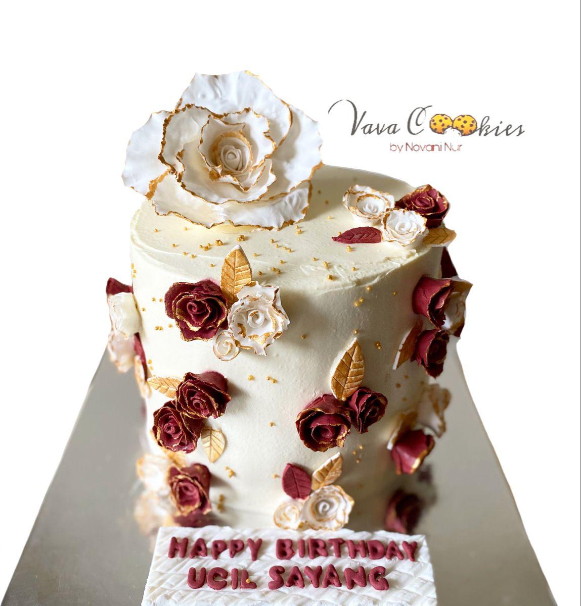 #flowercake#vavacookies
