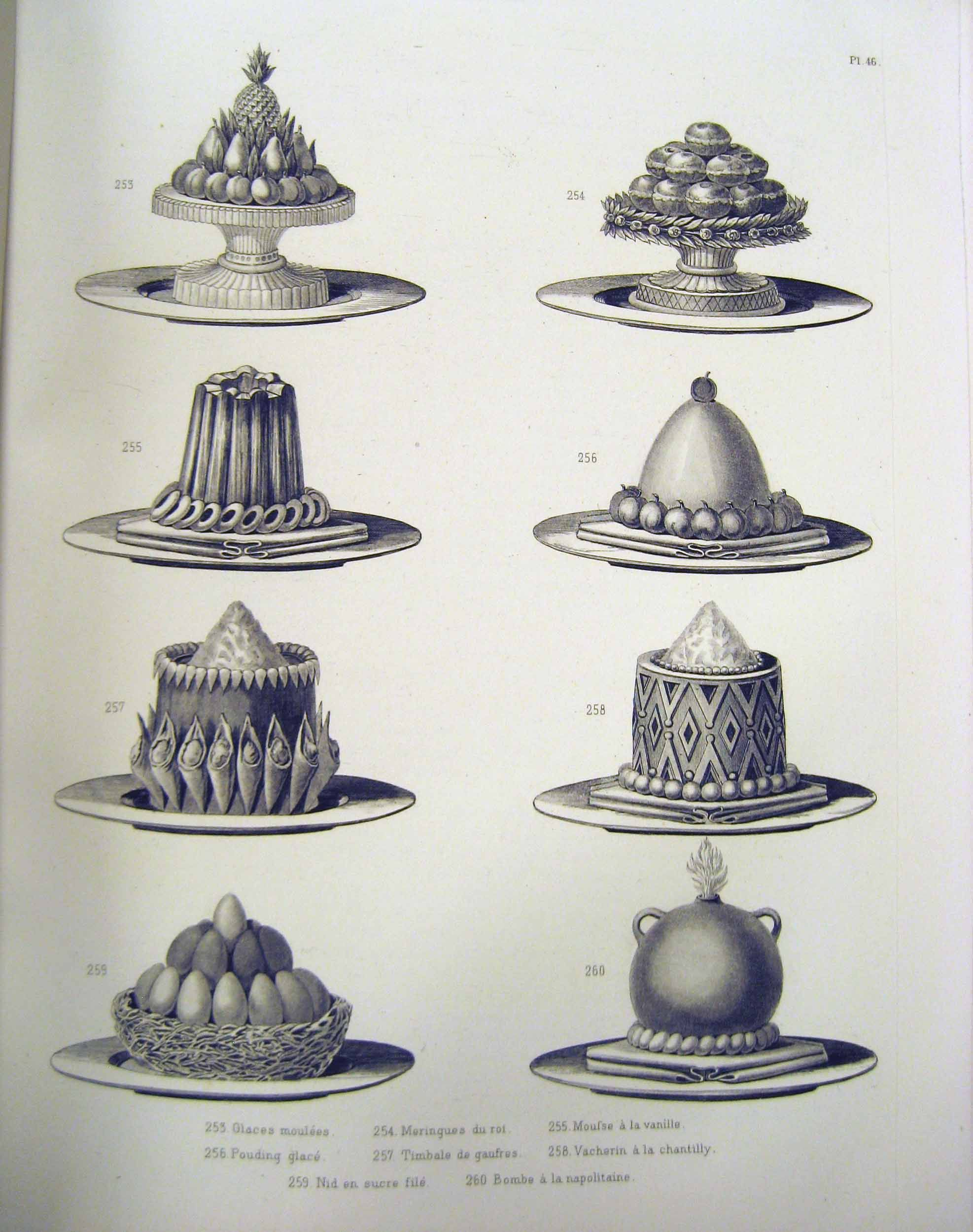 chaudfroid jellied sauces w poultry chaudfroid artistic cookery a practical system by urbain dubois 1870 winterthur library