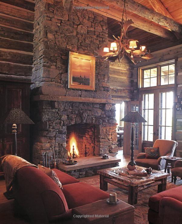 Rustic Fireplaces: Ralph Kylloe: 9781423601661: Amazon.com