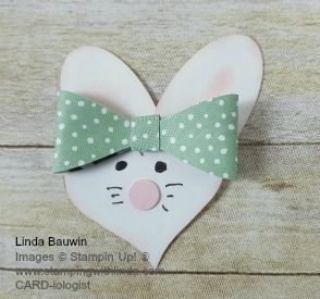 Bunny Face - Sweetheart, Large Oval, Owl and Bow Builder punches