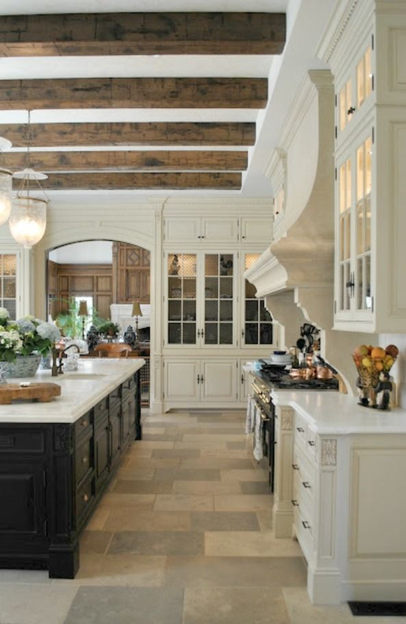 An Enchanted Home Story | Kitchens | Pinterest | French chateau ...