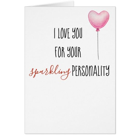 Love you for personality and body funny birthday card funny birthday bookmarktalkfo Gallery
