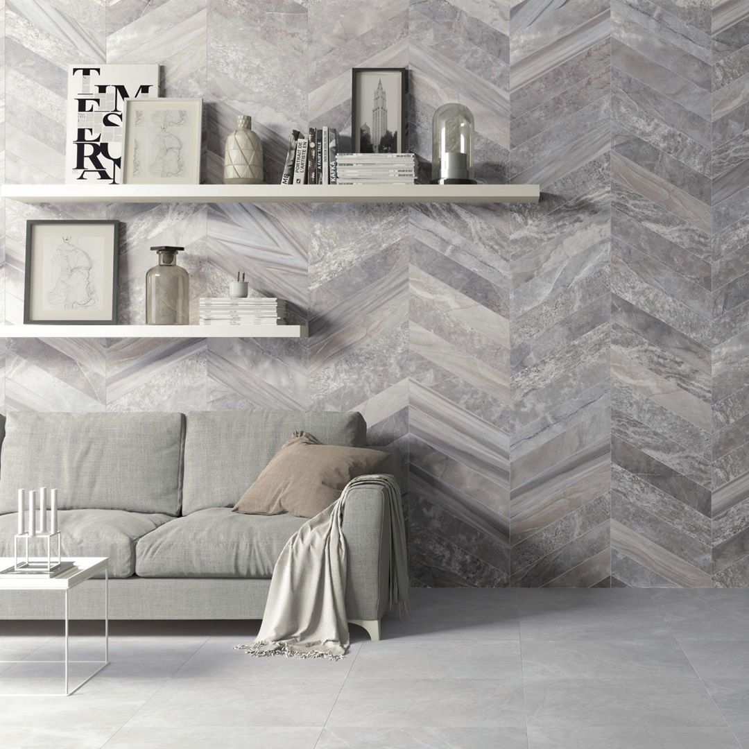 Est�tica centrada en la reinterpretaci�n crom�tica y decorativa del m�rmol.  .  Aesthetic focused on the chromatic and decorative reinterpretation of marble.  #saloni #saloniceramica #eternal