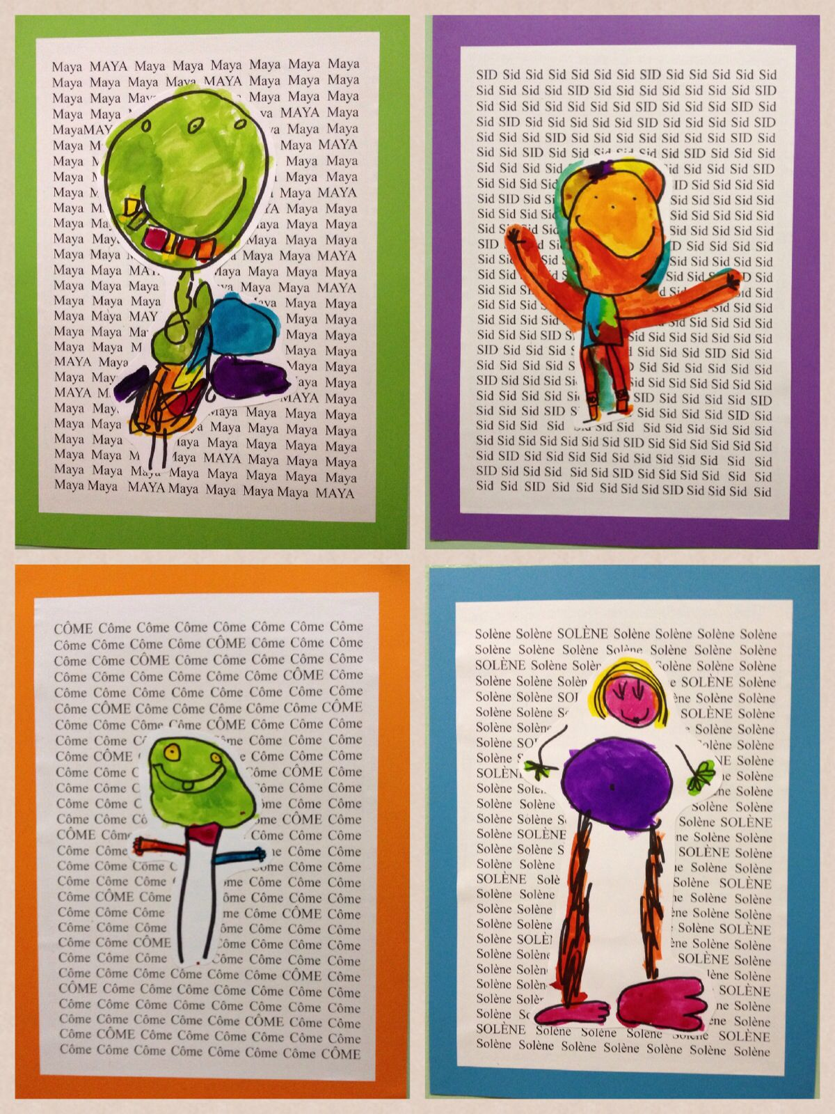 preschool art project ideas kindergarten self portraits project the name as 272