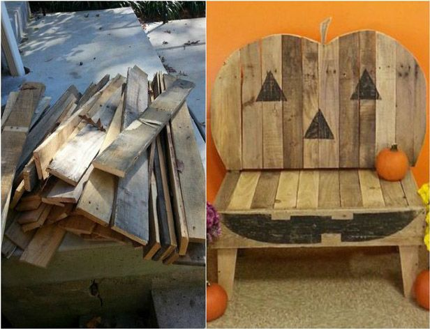 7 Spooky Halloween Decorations From Reclaimed Wood | Made ...