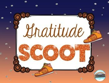 """""""Gratitude SCOOT"""" provides a fun and motivating way for your students to reflect on all they have to be grateful for. It's a great activity as we enter the Thanksgiving and winter holiday season, and great for encouraging an attitude of gratitude at any time of year."""