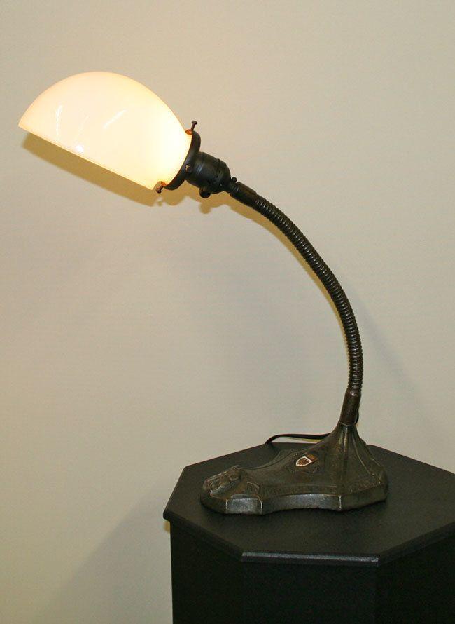 Vintage S Robert Schwartz Lamp W Insignia C 1920 Www Myrlg