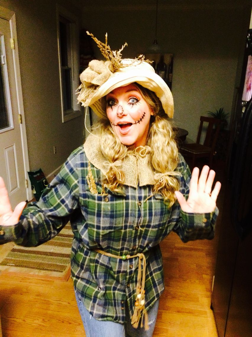 Halloween adult women's scarecrow costume ) Costumes