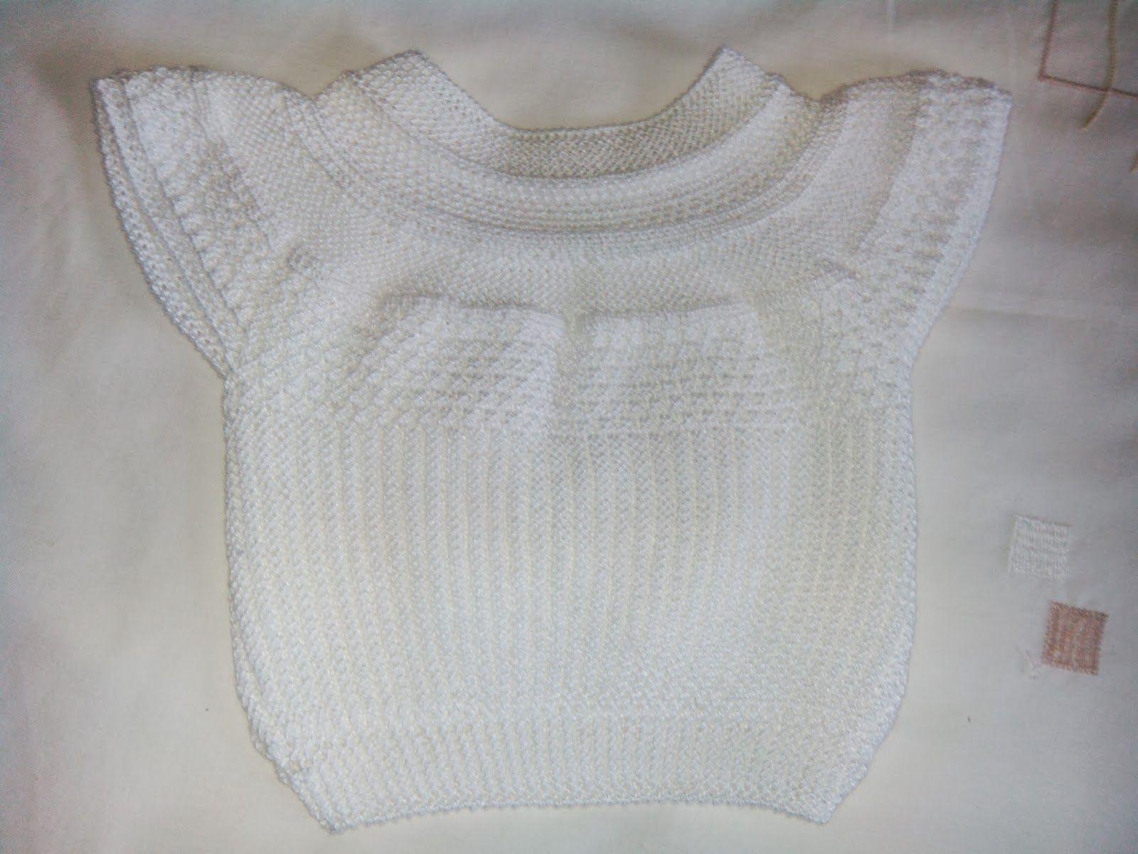 Blog de canastilla en lana para bebe hecho a mano\