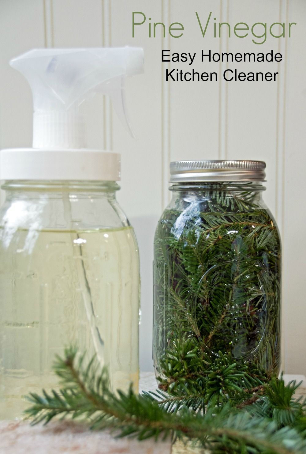 How to Repurpose Old Spice Jars | Homemade kitchen cleaner ...