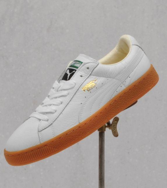 a68a6fe90a3 Puma white   gum sole