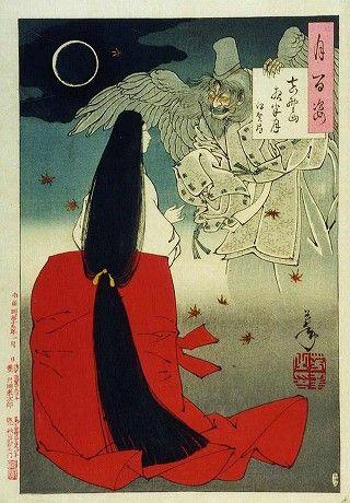 二次画像速報 : 幽霊&怨霊の浮世絵画像を貼ってみる その1