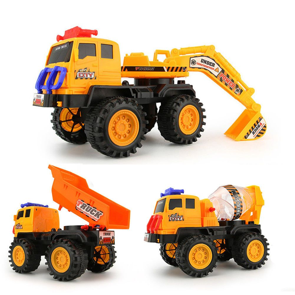 AUD  Excavator Toys For Boys Truck Kids Toddler Construction