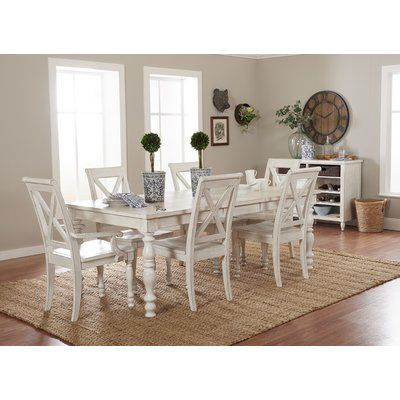 Eminence 7 Piece Extendable Dining Set In 2020 Extendable Dining