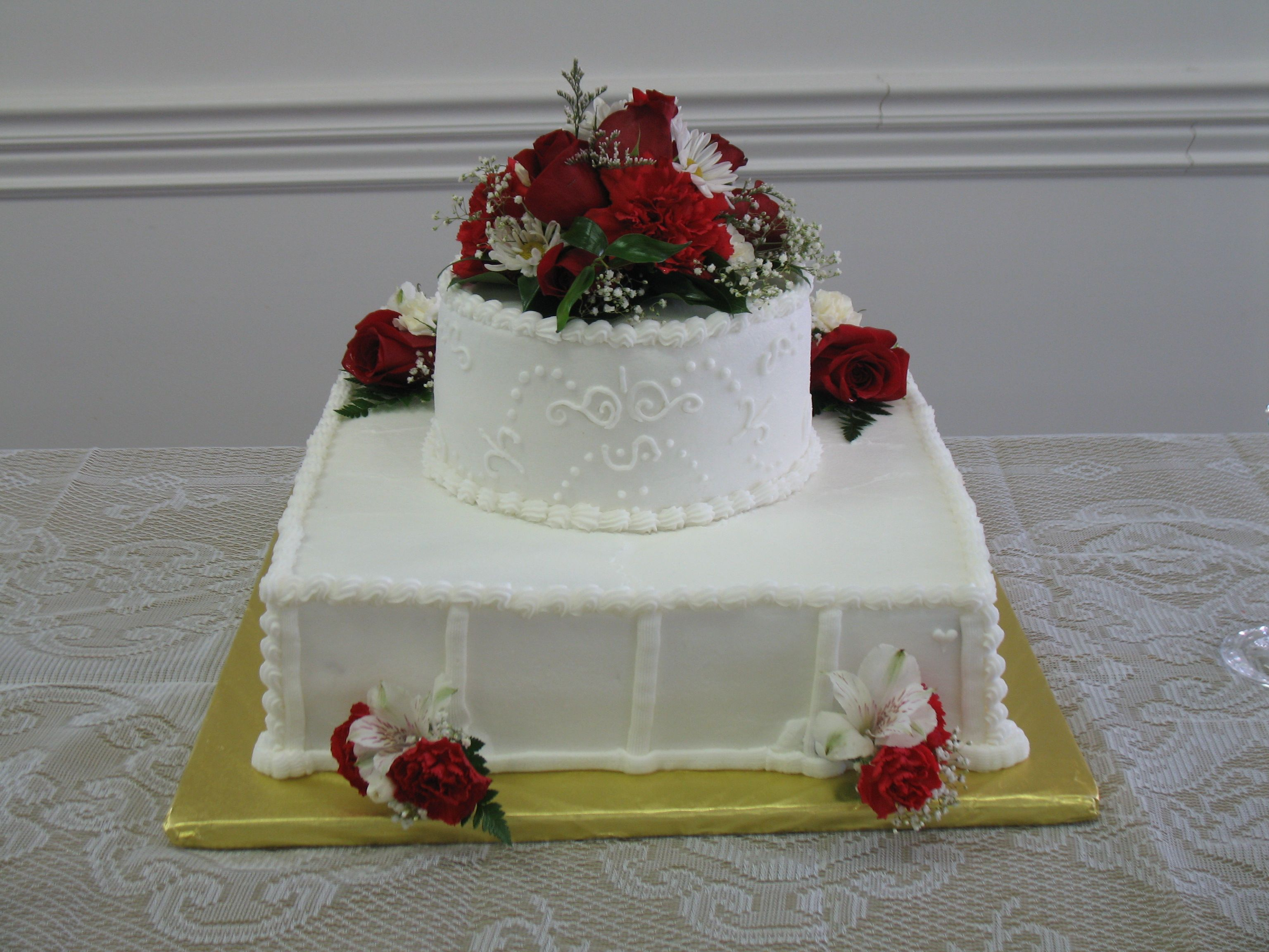 My uncle and auntus th anniversary real flowers anniversary