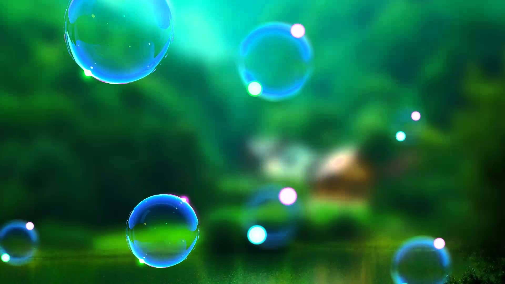 Video Background HDBubble Animation Video! As Realistic