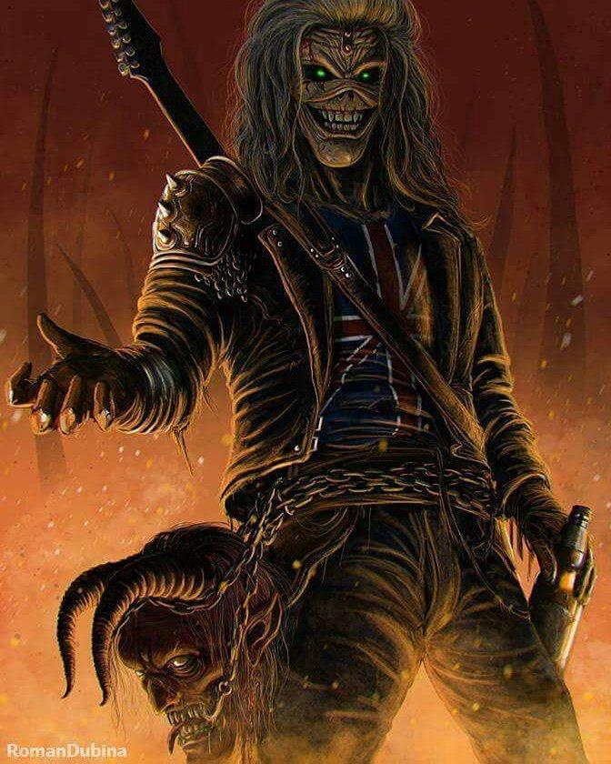 Eddie Iron Maiden Tatuagem De Rock Posteres De Rock Imagens De Rock