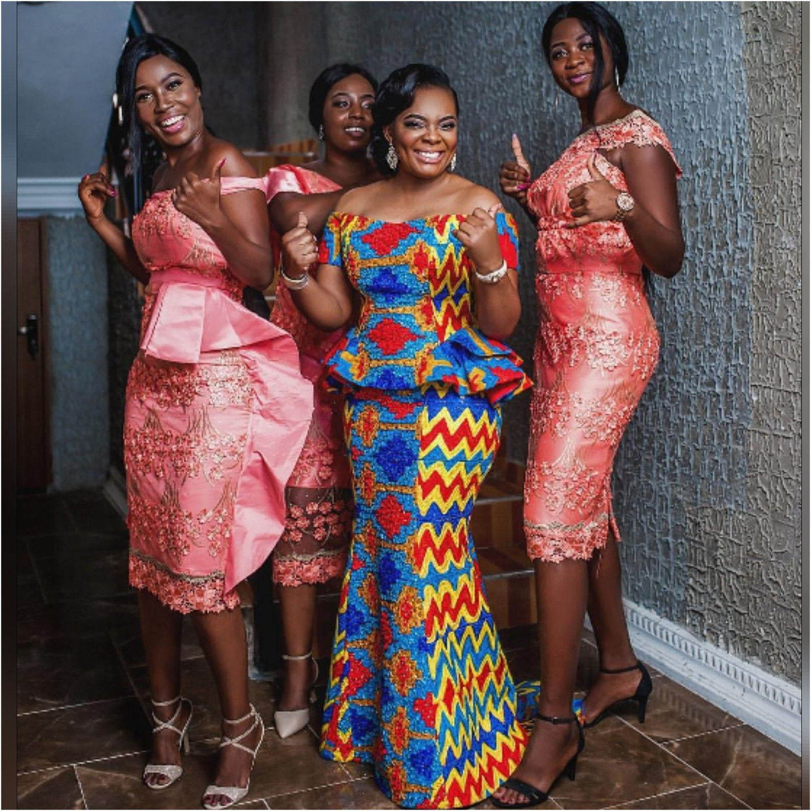 70 Latest Kente Styles For Engagements 2019 Fashenista In 2020 Kente Styles African Fashion Traditional Kente Dress