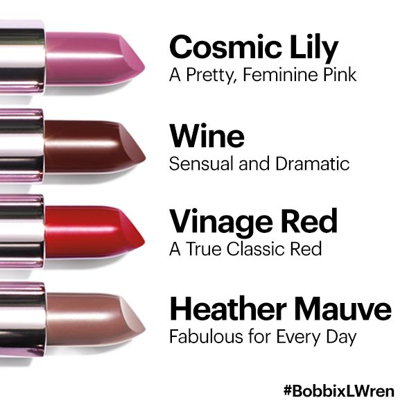 Which will you try first?   Amnesia Rose Lip Colors- Cosmic Lily, Wine, Vintage Red, Heather Mauve Bobbi Brown Cosmetics  http://www.bobbibrowncosmetics.com/product/12407/29595/Whats-New/Amnesia-Rose-Collection/Lip-Color/SS14/index.tmpl?cm_mmc=Pinterest-_-SS14-_-AmnesiaRose-_-LipColor
