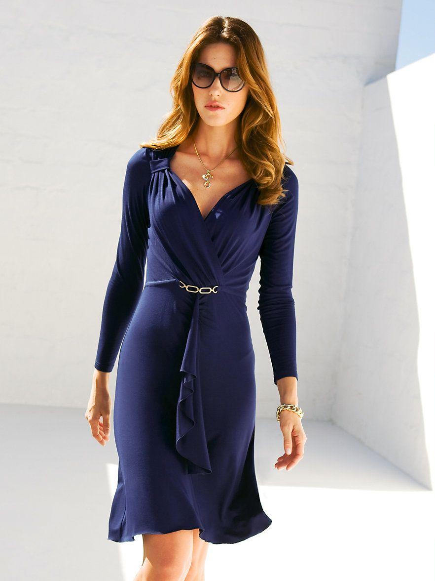 blue empire dress  Elegante kleider, Modestil, Kleider