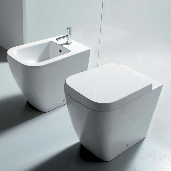 Globo Stone Classic 53 36 Floorstanding Toilet L 54 W 36 Cm