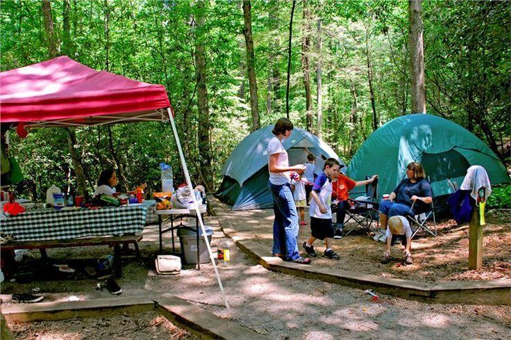 Ga Unicoi State Park 25 Tent Site 7 5 Miles Of Trails Kayak