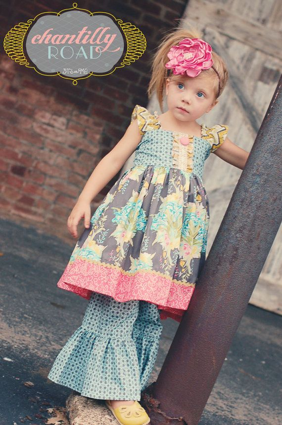 Loved the colors, had to get it! Chantilly Road Flutter Dress