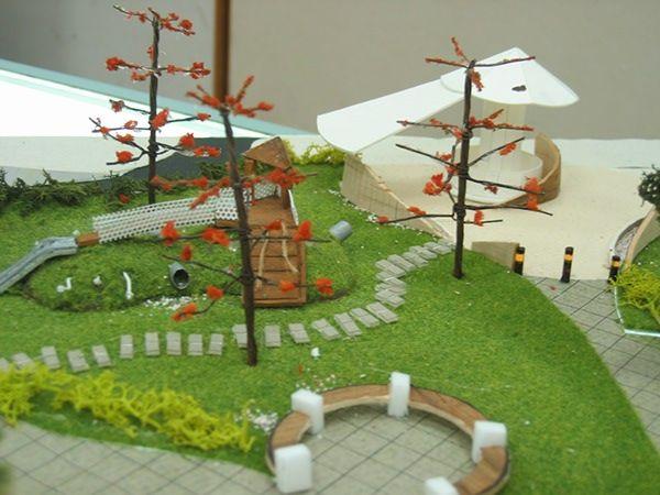 Physical Model Making For Landscape Design On Behance Landscape Architecture Design Landscape Design Landscape Model